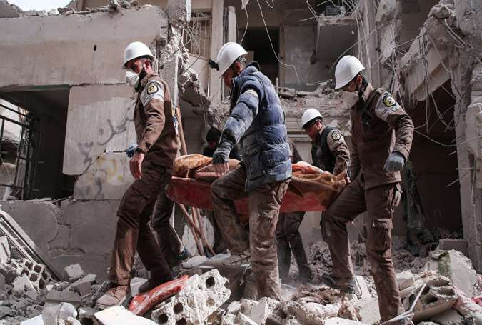 White Helmets Proxy to Defame Syrian Govt: Russia