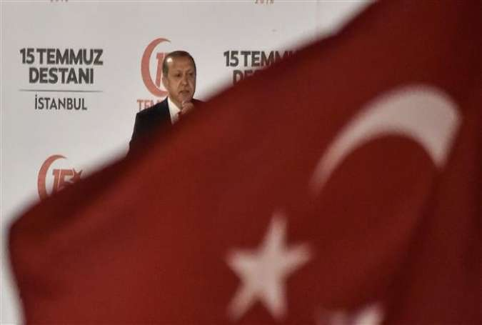 Erdogan caps patriotic binge with statue event