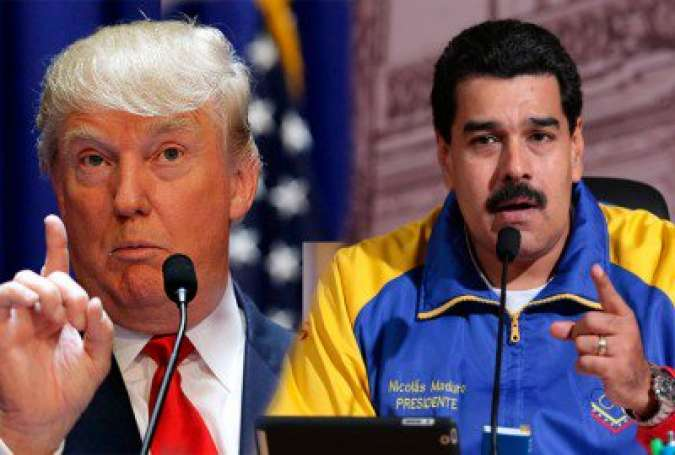 Maduro Defends Venezuela amid Threats by Trump