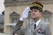 French Army Chief of Staff General Pierre De Villiers (photo by AFP)
