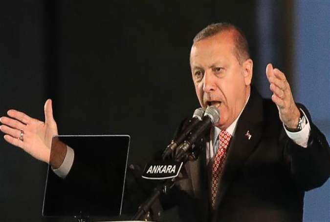 President of Turkey Recep Tayyip Erdogan (photo by AFP)