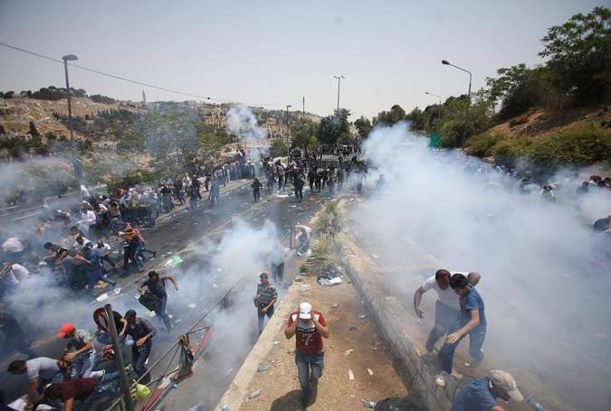 Israeli Regime Crackdown on Palestinian Protesters Kills 3, Injures 100s
