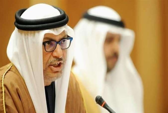 Emirati Minister of State for Foreign Affairs Anwar Gargash