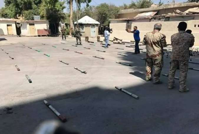 Syrian Forces Seize US, French Supplied Weapons from Terrorists
