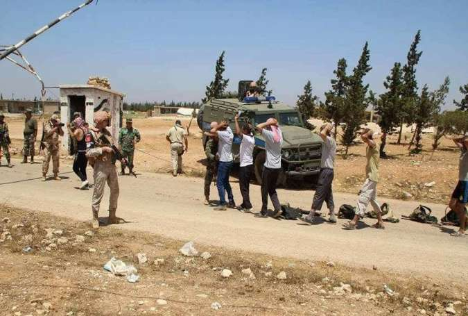 More Militants Surrender to Syrian Army
