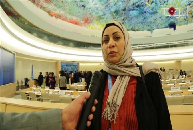 Prominent Bahraini human rights advocate Ebtisam al-Saegh (Photo by Bahrain al-Youm news agency)