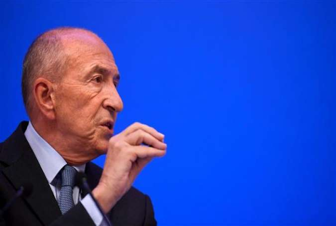 French Interior Minister Gerard Collomb gestures during a press conference at his ministry in Paris,France, on July 31, 2017. (Photo by AFP)