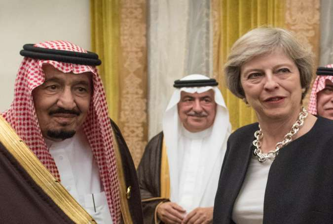 Salman dan Theresa May