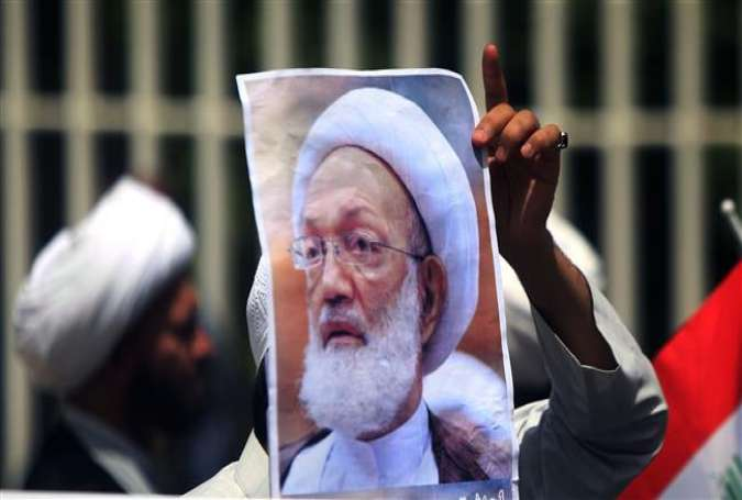 Bahrainis demonstrate in support of top Shia cleric
