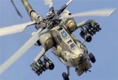 Mi-24P military helicopters known as Flying Tanks.jpg