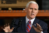 Pence defends Trump's military threat against Venezuela