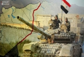 How are Border Areas with Iraq Vital for Syrian Army?