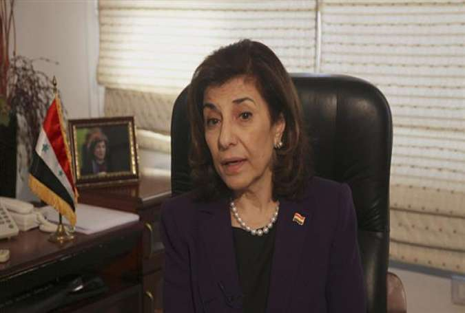 Bouthaina Shaaban, the political and media adviser to Syrian President Bashar al-Assad