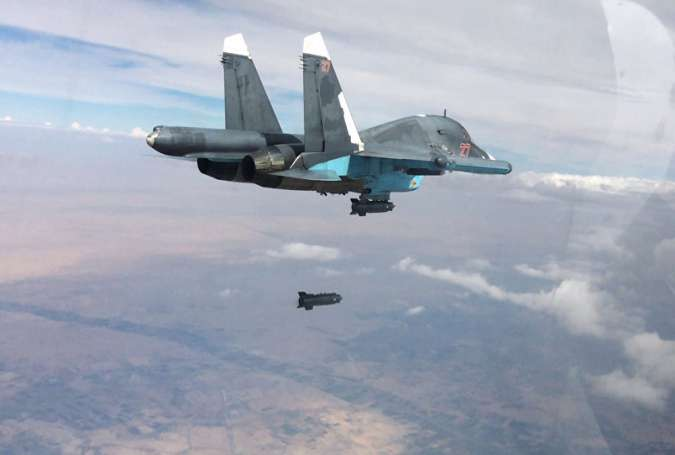 Over 200 Daesh terrorists killed in airstrike in Dayr al-Zawr: Russia