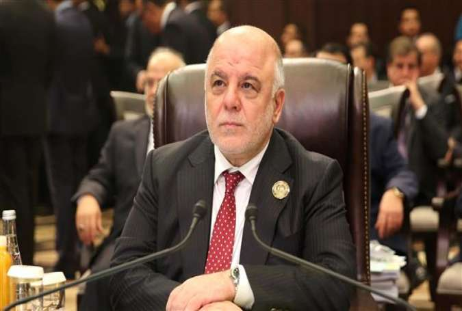 Iraqi Prime Minister Haider al-Abadi (Photo by AFP)