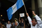 Guatemalan protesters demand president's ouster over corruption