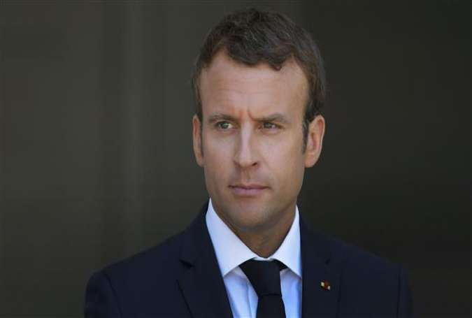 French President Emmanuel Macron (photo by AFP)