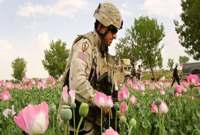 US Benefits from Afghanistan Drugs Production