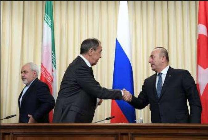 تاثیر بحران سوریه بر روابط روسیه و ترکیه در منطقه قفقاز