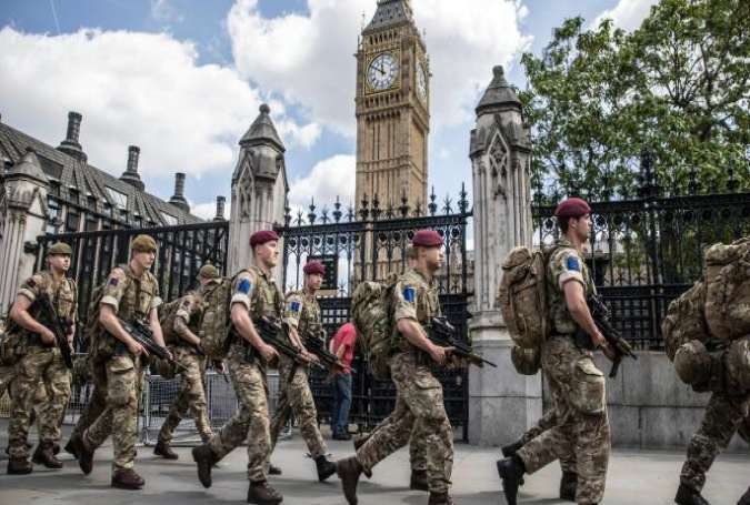 Britain Deploys Hundreds of Troops after London Tube Attack, Threat Level Critical