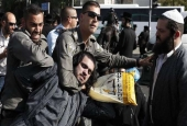 Violent clashes as Israelis protest joining army