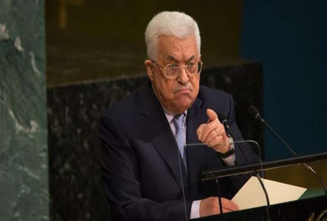 Palestinian President Mahmoud Abbas speaks during the 72nd UN General Assembly in New York on September 20, 2017. (Photo by AFP)