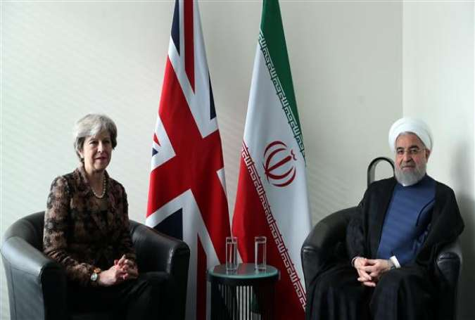 Britain's PM urges all parties' commitment to Iran nuclear deal