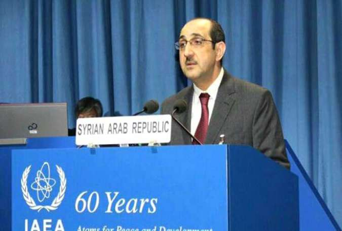 Syria's Permanent Representative to the UN in Vienna Bassam al-Sabbagh