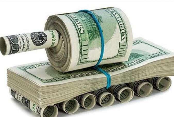 ارتش آمریکا عامل جلوگیری از سقوط دلار در نظام ارزی جهان