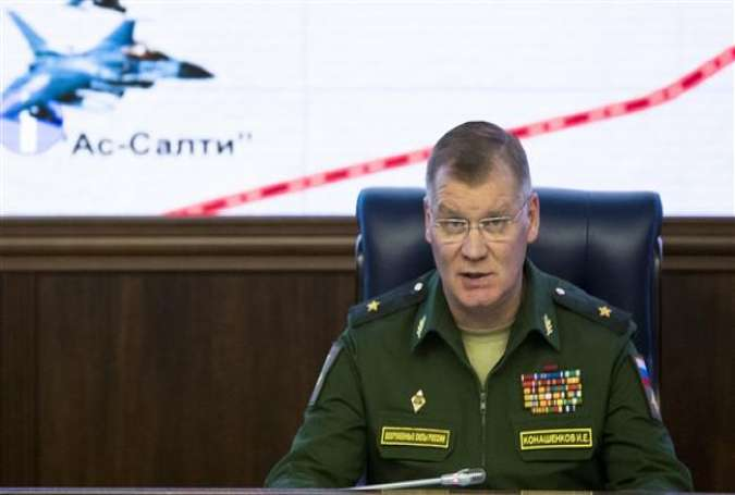 Defense Ministry spokesman Major General Igor Konashenkov