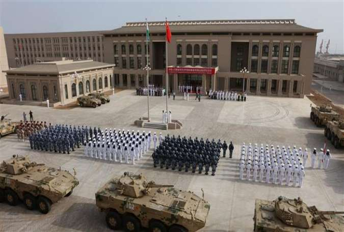 China holds military drills at 1st overseas base in Djibouti