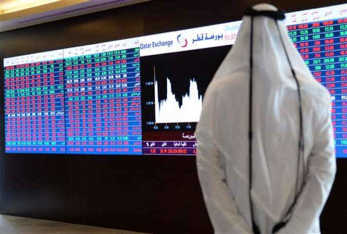 The latest official figures show that Qatar's economy slowed down in the second quarter to its lowest rate since the global financial crisis.