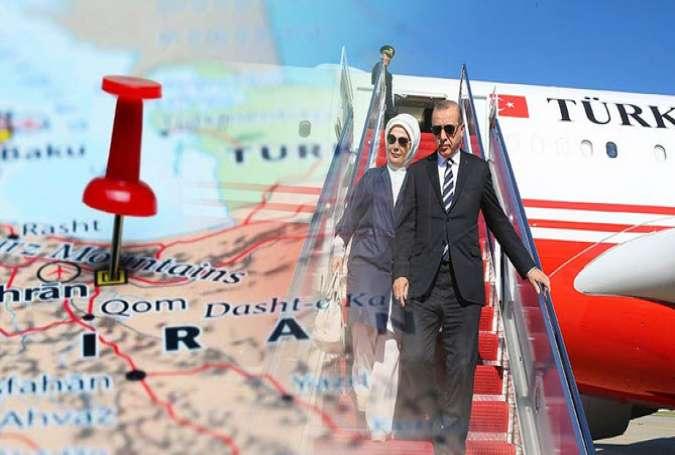 محورها و ابعاد اهمیت سفر اردوغان به تهران