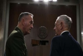 US Secretary of Defense Jim Mattis (R) and Chairman of the Joint Chiefs of Staff General Joseph Dunford wait for the beginning of a hearing before the Senate Armed Services Committee in Washington, DC, October 3, 2017. (Photo by AFP)