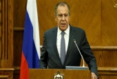 Russian Foreign Minister Sergei Lavrov (Photo by Reuters)