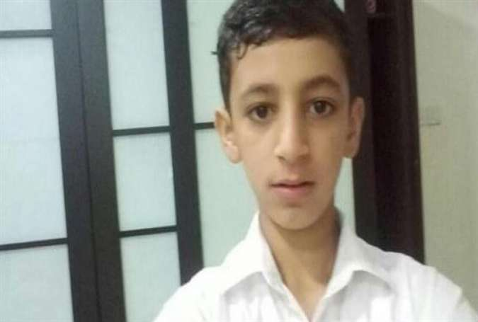 Imprisoned Bahraini teenager Jassem Abdul Jalil Hassan (Photo via Twitter)
