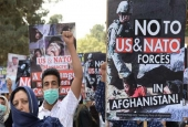 Demo anti AS dan NATO di Afghanistan.jpg