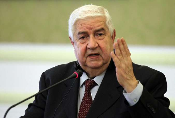 Syrian Deputy Prime Minister, Foreign and Expatriates Minister Walid al-Moallem