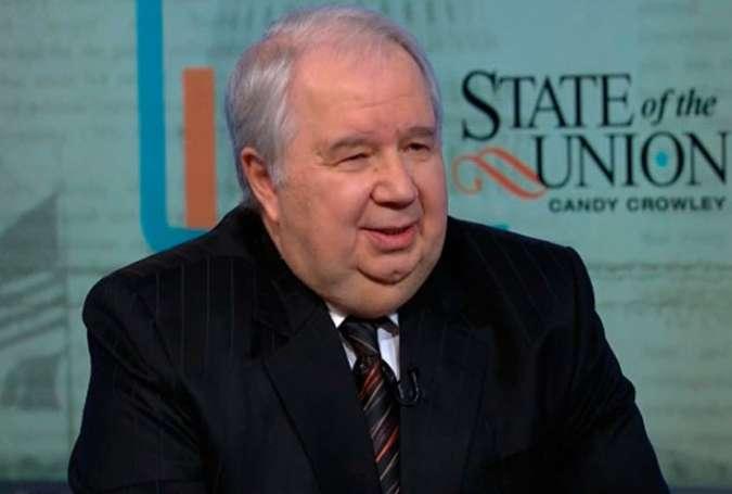 نتیجه تصویری برای اظهارات سفیر جنجالی روسیه در آمریکا درباره برجام