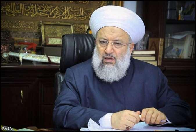اسرائیل اور اسکے نمک خواروں کیخلاف اسلامی مزاحمت کی حمایت جاری رکھیں گے، مفتی اعظم لبنان شیخ ماہر حمود