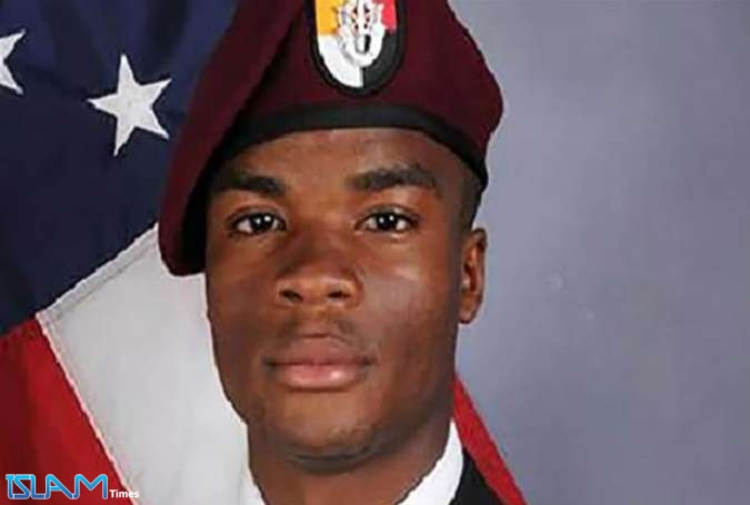 Undated official army photo released by the US Department of Defense shows Sgt. La David T. Johnson, 25, of Miami Gardens, Florida, who was killed on October 4, 2017 in southwest Niger. (Photo by AFP)