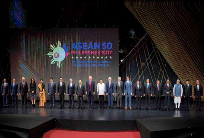 ASEAN summit opens in Philippine capital amid anti-US protests