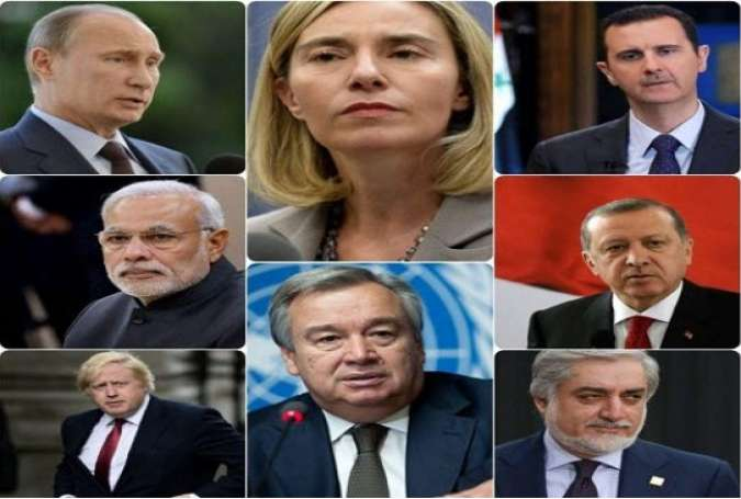 تسلیت مقامات کشورهای خارجی به ایران