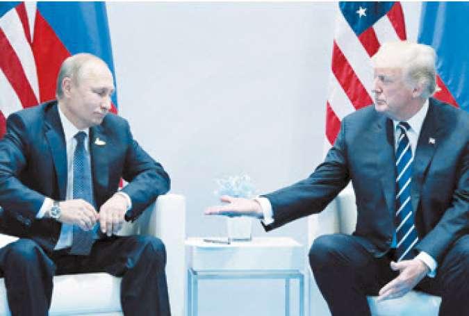 لاوروف: پوتین با ترامپ درباره ایران توافقی نكرده است