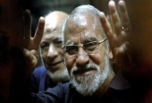 Mohamed Badie, the leader of Egypt