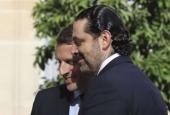 Macron invites Lebanese Premier Hariri, his family to France