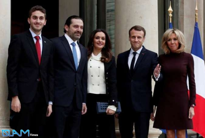 Hariri Does Paris