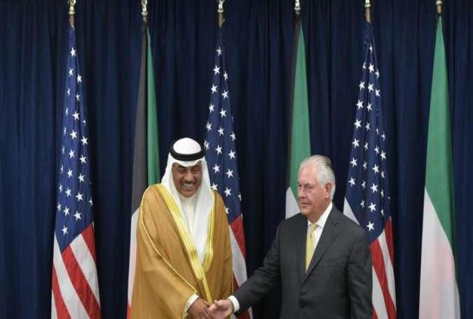 گفتگوی تلفنی وزیر خارجه ی آمریکا با همتای کویتی اش
