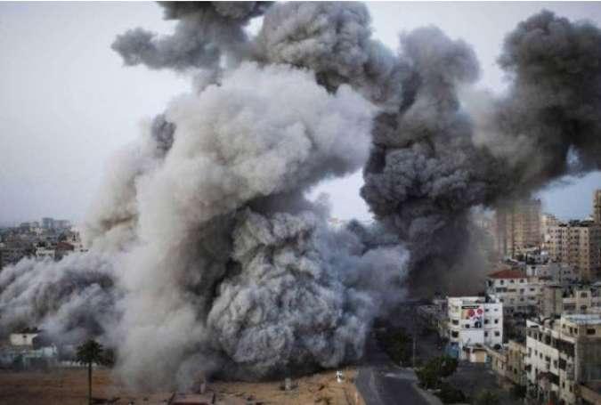 حمله رژیم صهیونیستی به جنوب غزه