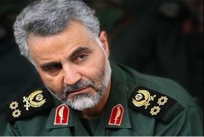 سردار سلیمانی: ایران آماده پشتیبانی همهجانبه از نیروهای مقاومت فلسطین است